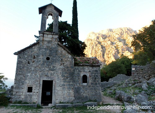 Abandoned church, Kotor