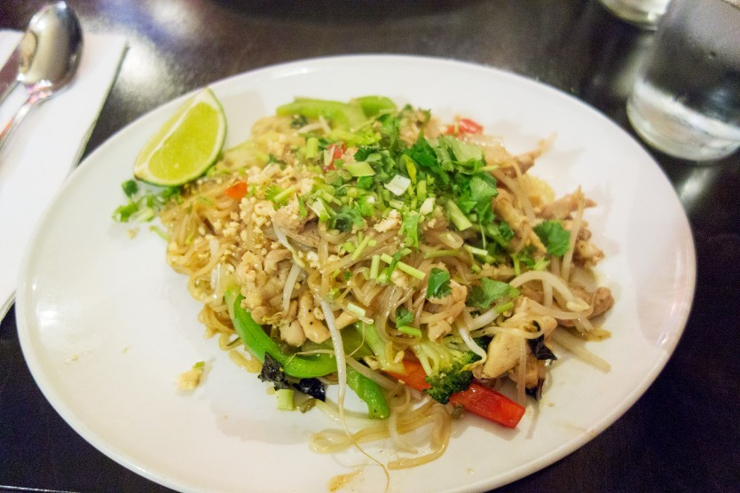 Chicken Pad Thai at Thang Long.