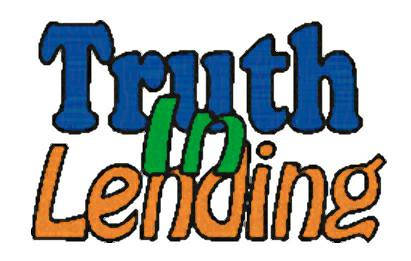 truth in lending property guiding
