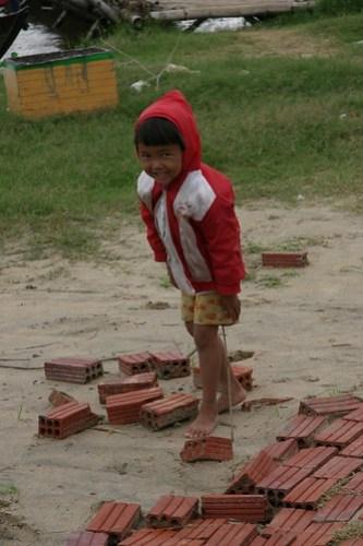 Local girl, Hoi An, Vietnam
