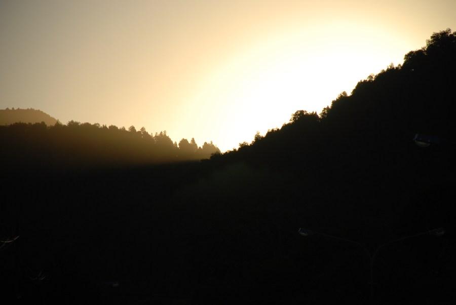 Atardecer en San Martín de los Andes