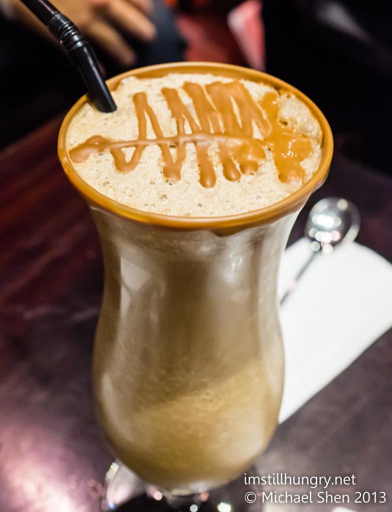 Chokolait iced coffee