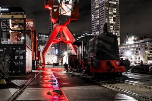 Rotterdam by night Train