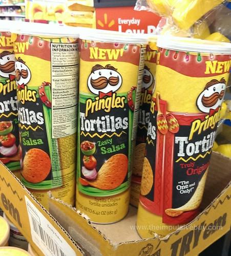 Pringles Tortillas Zesty Salsa