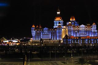 Night View of Sochi, Russian Federation
