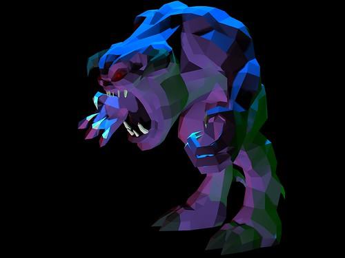 pinky 3d final render