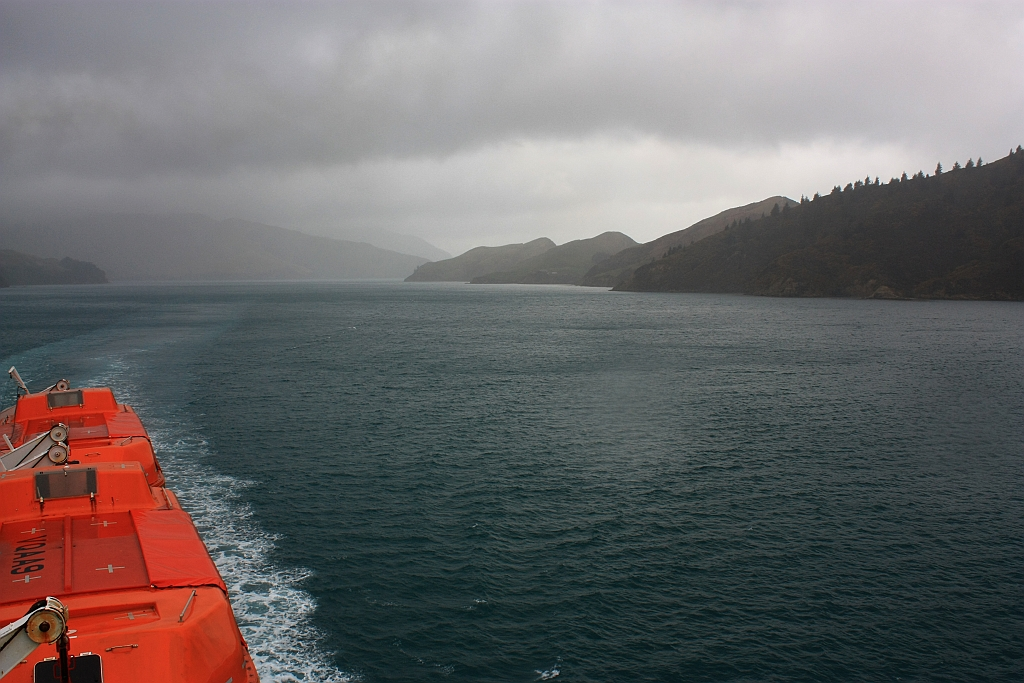 Interislander Ferry, Tory Channel, Te Wai Pounamu, South Island, New Zealand, Aotearoa