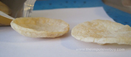 Lay's Air Pops Original Potato Thickness