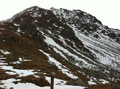 Blick von der Edelrauthütte auf die Napfspitze