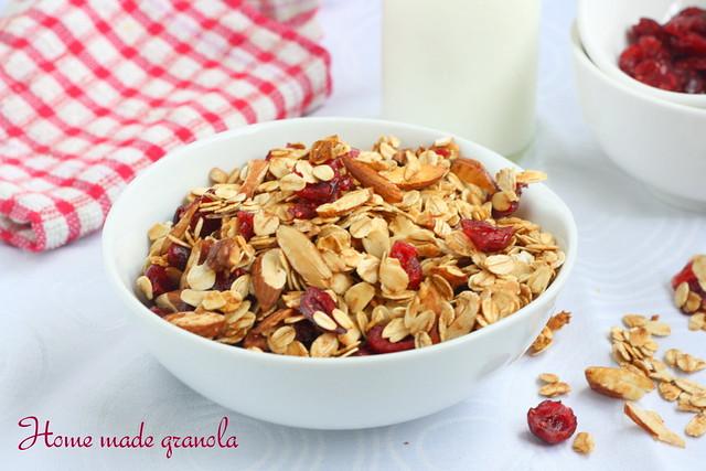 Cranberry -granola