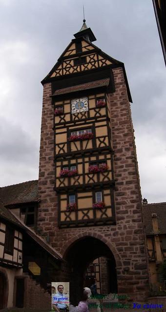 Torre Riquewirk pueblo medieval