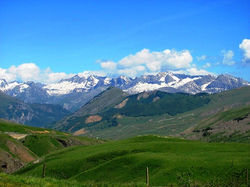 Pyrenees Mountains Pass