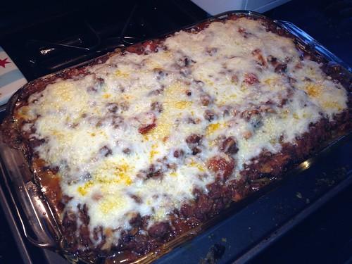 Eggplant Lasagna Bolognese