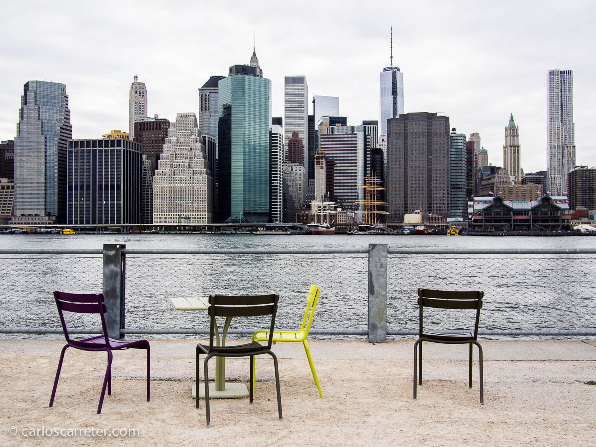 Manhattan desde Brooklyn Bridge Park