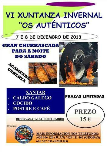 VI Xuntanza Invernal Os Autenticos - Curtis (A Coruña)
