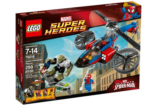 76016 Spider-Helicopter Rescue BOX