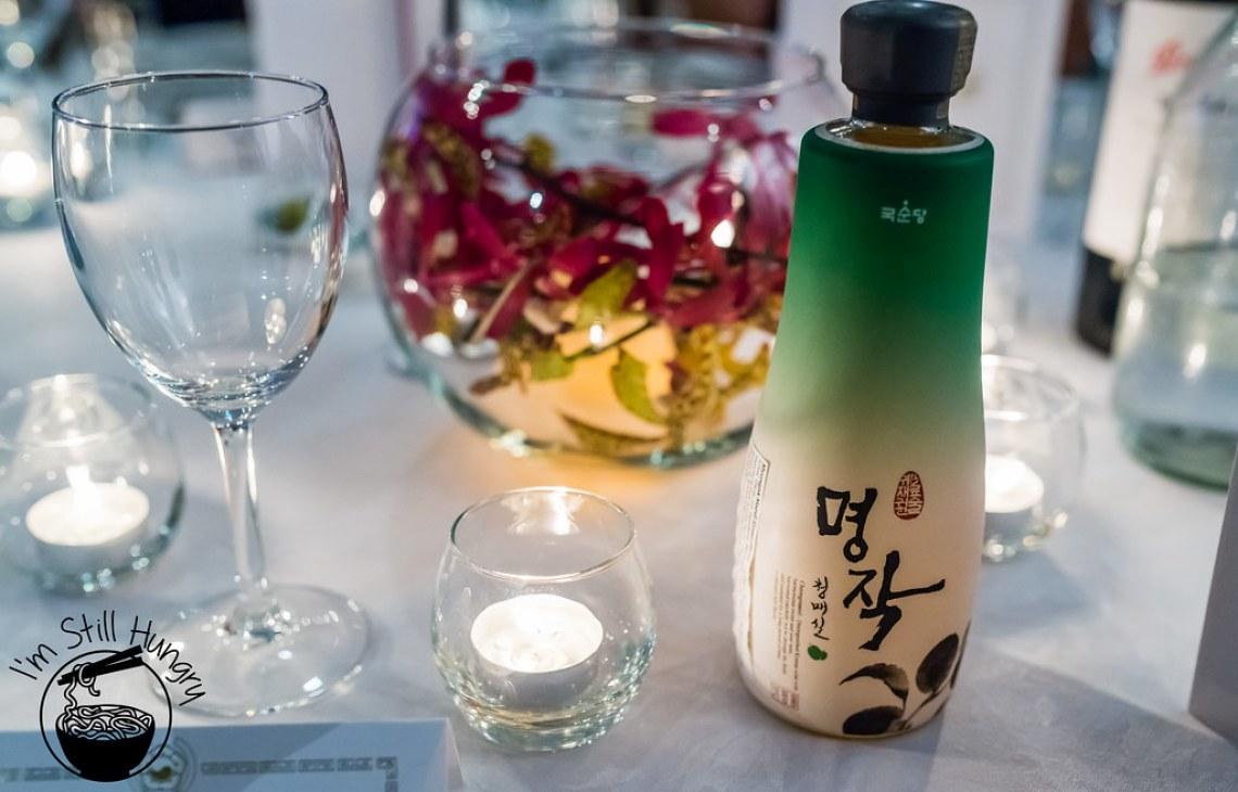 bokbunja ju cheongmasilju korean banquet showcase