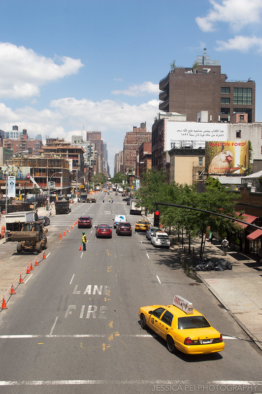 Street View from High Line New York