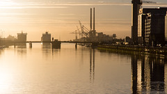 River Liffey sunrise