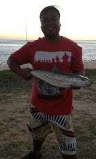 7 lb. O'io in Nanakuli with tako bait.