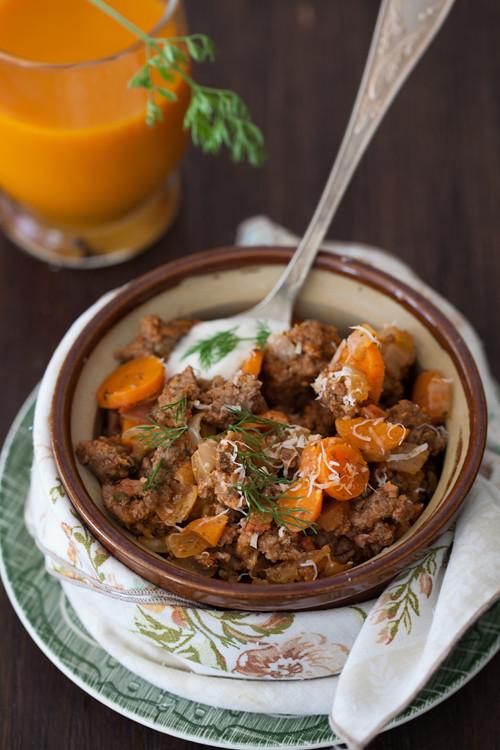 Ground Beef Carrots 2