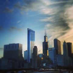Sunset #chigram #chicagogram #searstower