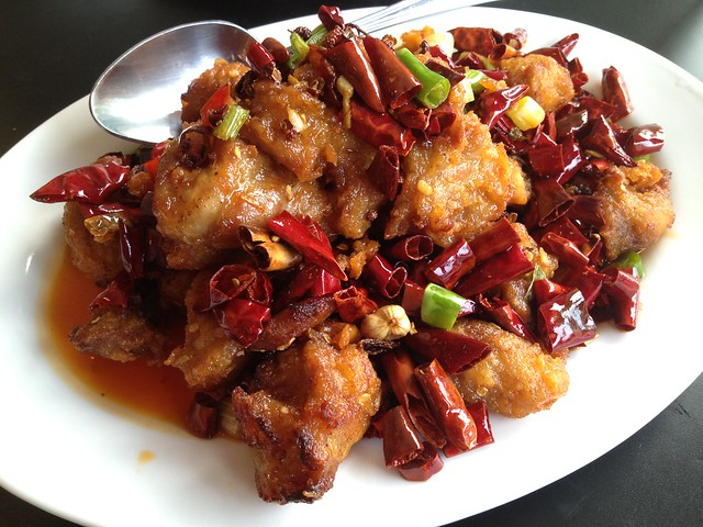 Chongqing chicken - Mama Ji's