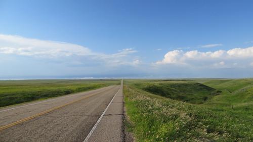 South of Consort, Alberta, along AB-886