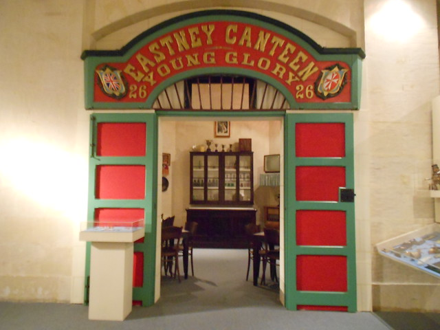 Reproducción Cantina Museo Marítimo Malta