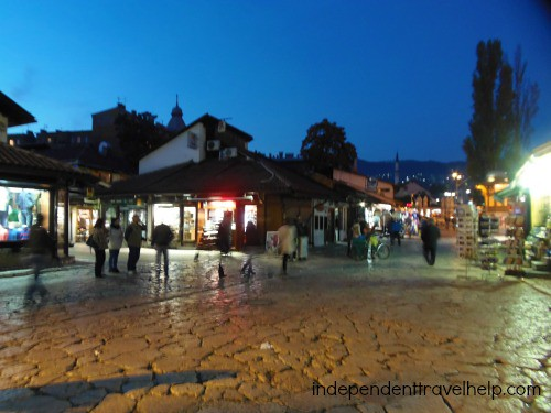 The Old City, Sarajevo