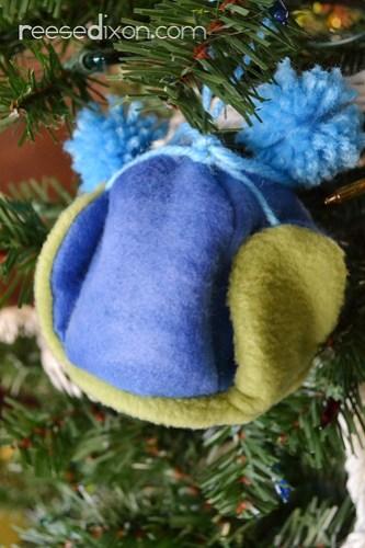 Earflap Hat Ornament