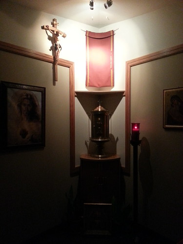 Adoration at OLGC's Adoration Chapel