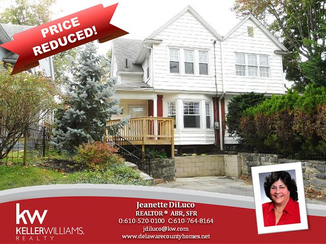 1046  REES AVE  BRYN MAWR,PA 19010 PRICE REDUCED!