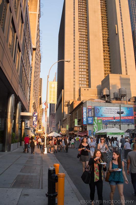 Taste of Times Square in New York City