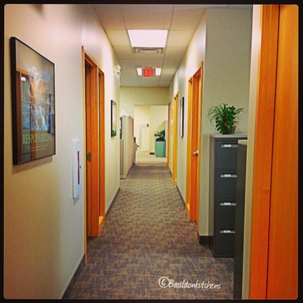 Aug 28 - corridor {at my office} #fmsphotoaday #corridor #office #work
