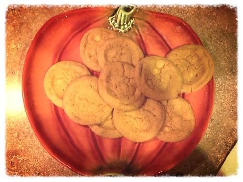 Pumpkin Cookies!