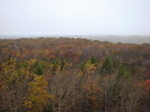 View from the tower on Mount Davis - Oct. 13th 2013