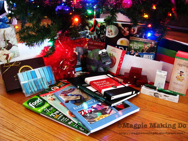 Gifts laid out full