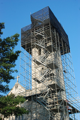 Non union, scaffold, scaffolding, rental, rentals, construction, historic buildings, inspection, art, design, sales, DE, MD, PA, NJ, (302) 650-0520, pinnacle scaffold