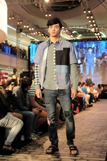 Lee denim show