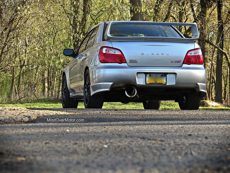 2004 Subaru Impreza WRX STi rear