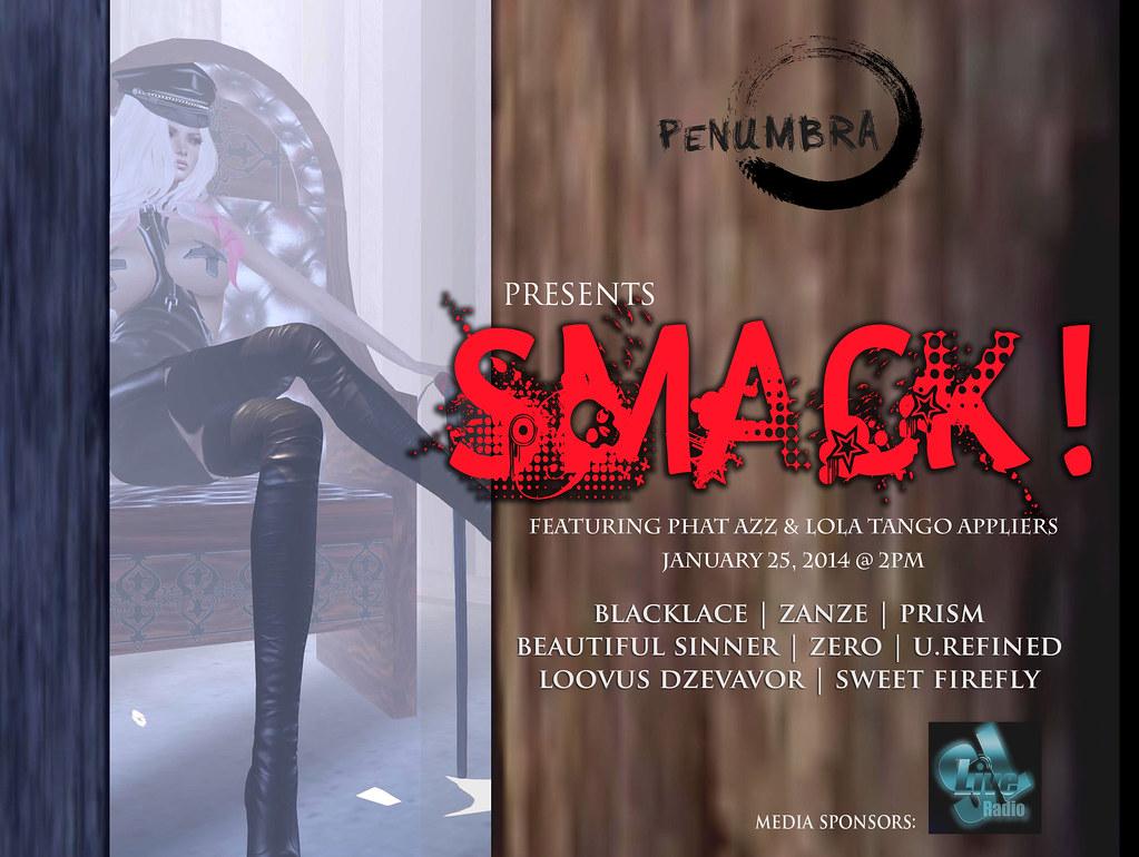 SMACK! A Penumbra's Catalogue Trunk Show.