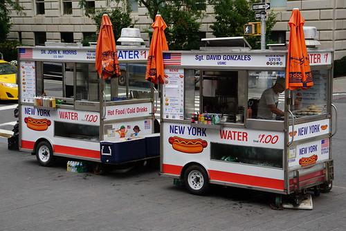 Food carts - Upper East Side, NYC