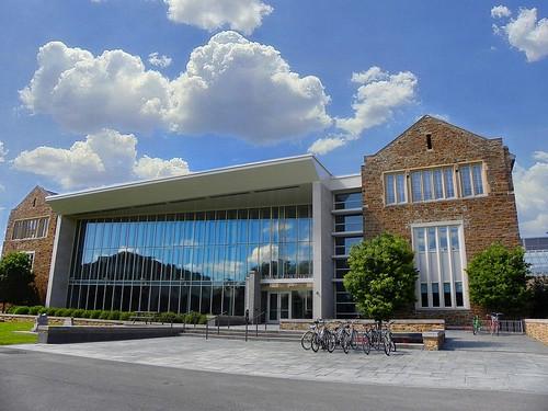 Hamilton College ~ Taylor Science Center ~ Clifton Oneida County NY ~ Reflection