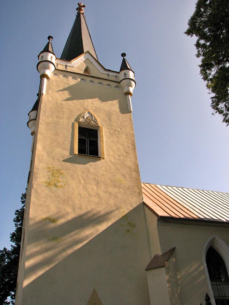Dačolomiansky kostol - veža