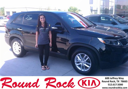 Thank you to Rafael Narvaez Jr on your new 2014 #Kia #Sorento from Shawn Ankrom and everyone at Round Rock Kia! #NewCarSmell by RoundRockKia