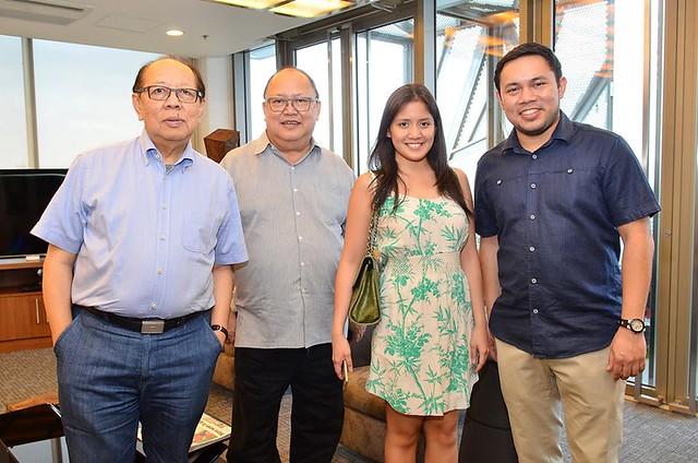 Dad, Tito Ronny, Camille Villar, Mark Villar