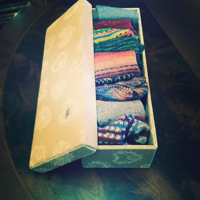 la scatola dei calzini