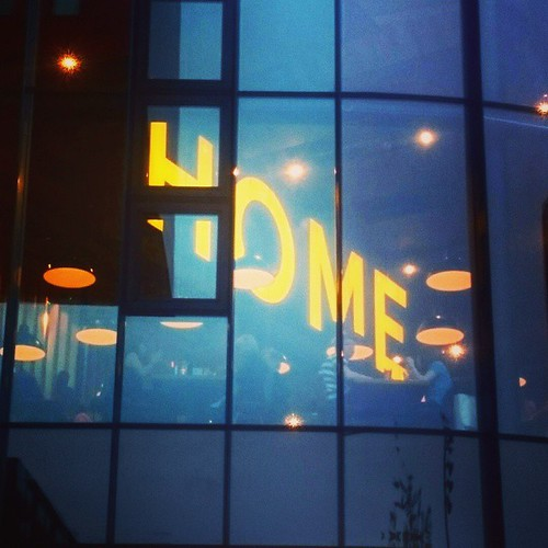 First date night in ages with @frankhamilton79. Dinner and a movie at @homemcr. Saw a brill German movie called West. Very happy girl :) <a rel=