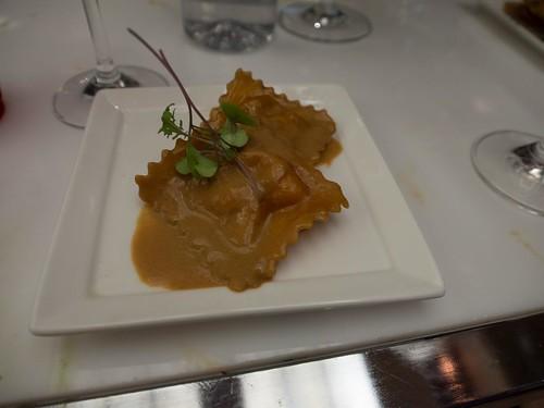Lobster Ravioli - Toronto Taste 2013